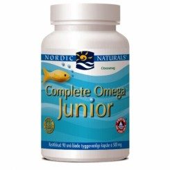 Ultimate omega Junior 90 kapsul Nordic naturals