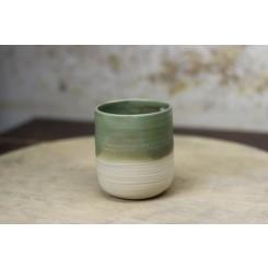 Artisan unikatna skodelica zelena 250 ml