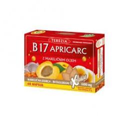 Vitamin B17 Apricarc iz mareličnih jedrc + reiši in ostrigar - Terezia, 60 kapsul