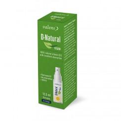 Vitamin D-Natur Vegan ustno pršilo Valens